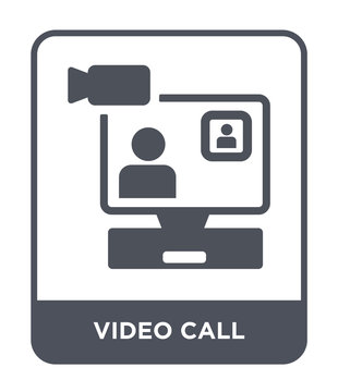 video call icon vector
