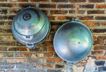 Two steel bowl