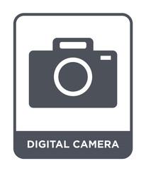 digital camera icon vector