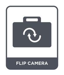 flip camera icon vector