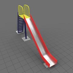Playground slide 1