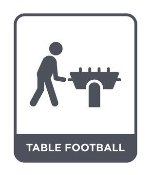 table football icon vector