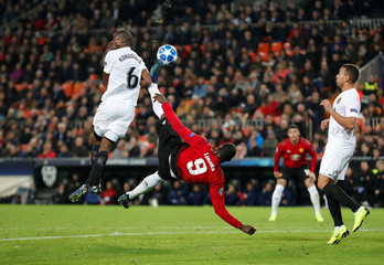 Champions League - Group Stage - Group H - Valencia v Manchester United