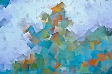 Abstract background in cubism style.
