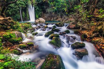 Waterfall Banias landscape