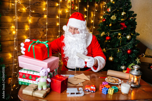 The Christmas Clause.Merry Christmas And Happy Holidays Santa Clause Is