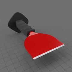 Brick bolster with guard