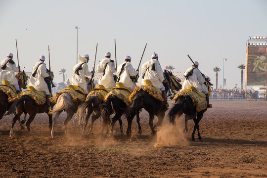 The Salon du Cheval d'El Jadida, a 6 day International thoroughbred Arabian event.