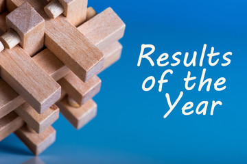 Results of the year. 2017 review. Time to summarize and plan goals for the next year. Business background