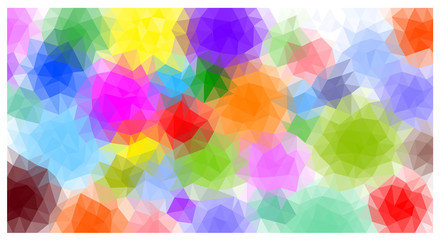 Triangular geometric background