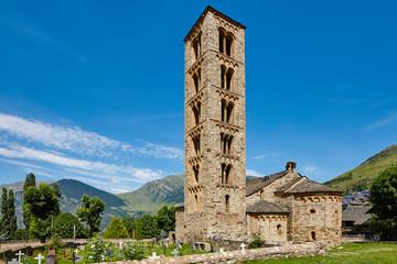 Spanish romanesque. Sant Climent de Taull church. Vall de Boi. Catalonia Wall mural