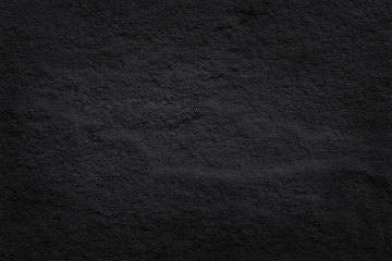 Dark grey black slate texture in natural pattern with high resolution for background and design art work. Black stone wall.