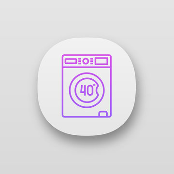 Machine washable at 40 degree app icon