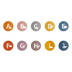 Alphabet der Tiere | A-J