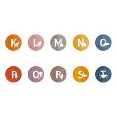 Alphabet der Tiere | K-T