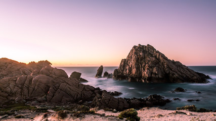 Sunset Sugarloaf Rock
