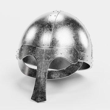Realistic 3d Render of Viking Helmet