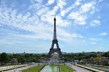Another view of Eiffel tower