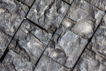textured surface of a stone