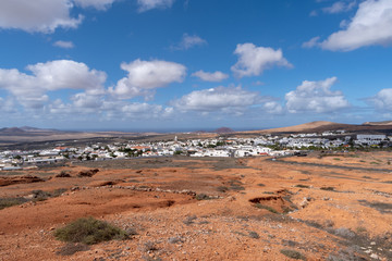 Teguise town, Lanzarote, Canary Islands
