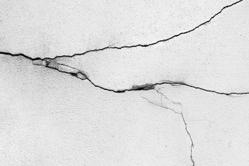 Cracks on the wall