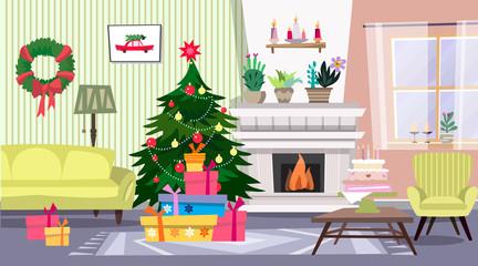 Christmas interior9