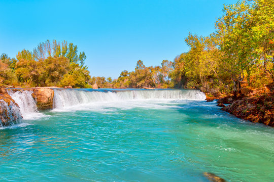 Manavgat Waterfall - Antalya,Turkey