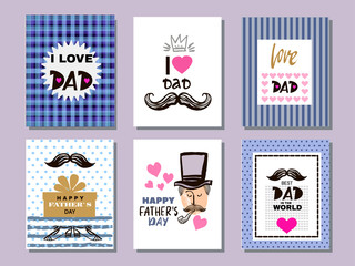 Father's day collection cards7