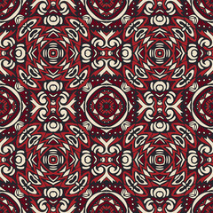 seamless geometric tiled pattern, grunge abstract background