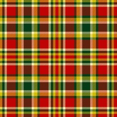Seamless christmas tartan vector pattern