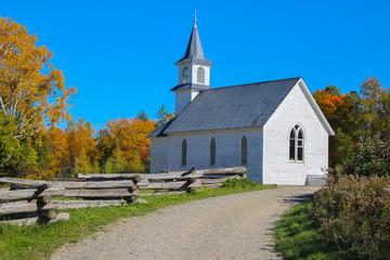 Church in New Brunswick, Canada