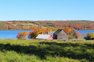 Country houses n New Brunswick, Canada