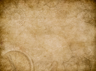 old map abstract vintage background Fototapete