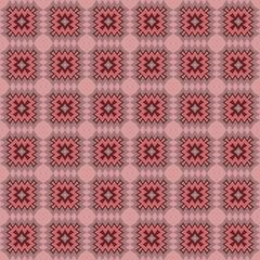 Zigzag Seamless Pattern, Vector Illustration. For Interior Design, Printing, Wallpaper, Decor, Fabric, Invitation
