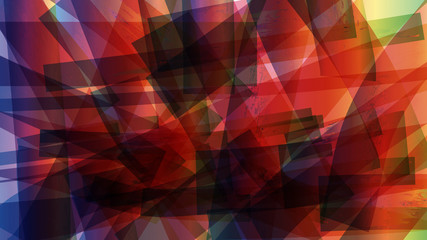 Abstract grunge geometric colorful background