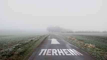 Schild 402 - Tierheim