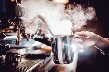 Obraz baristas coffee drink - fototapety do salonu