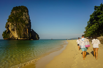 Holidays in Thailand on the sea coast