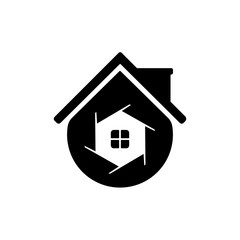 House Photography Logo Template support icon modern.