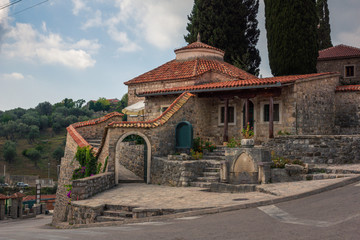 Mosque in old town in Stari Bar, Montenegro
