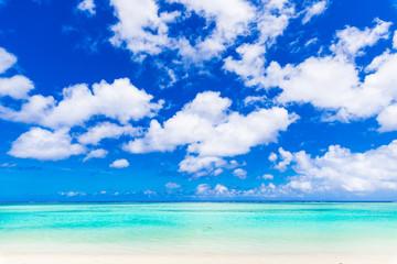 夏イメージ 海・ビーチ・青空 グアム
