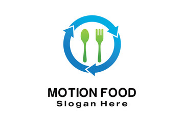 MOTION FOOD LOGO DESIGN
