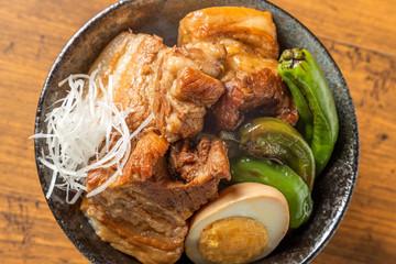 柔らか煮豚 Soft boiled pork cuisine