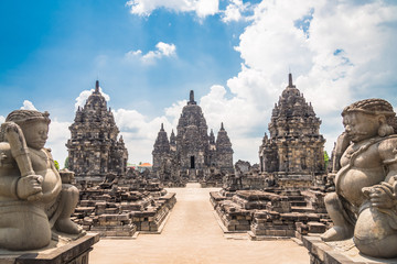 Indonesia Prambanan Temple Compounds ; Candi Sewu 1