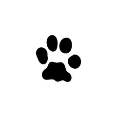 bobcat track vector icon. bobcat track sign on white background. bobcat track icon for web and app