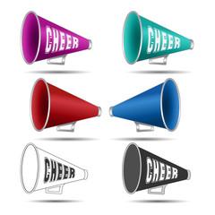 Megaphone-Cheer used by cheerleaders