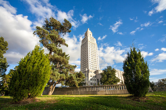 The State Capitol at Baton Rouge Louisiana USA