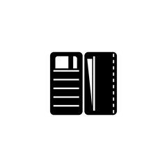 wallet vector icon. wallet sign on white background. wallet icon for web and app