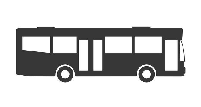 Bus icon Vektor Illustration Piktogramm