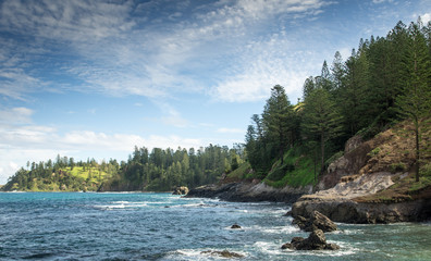 Coastline at Kingston - Norfolk Island